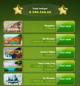 Jackpots Klaver Casino